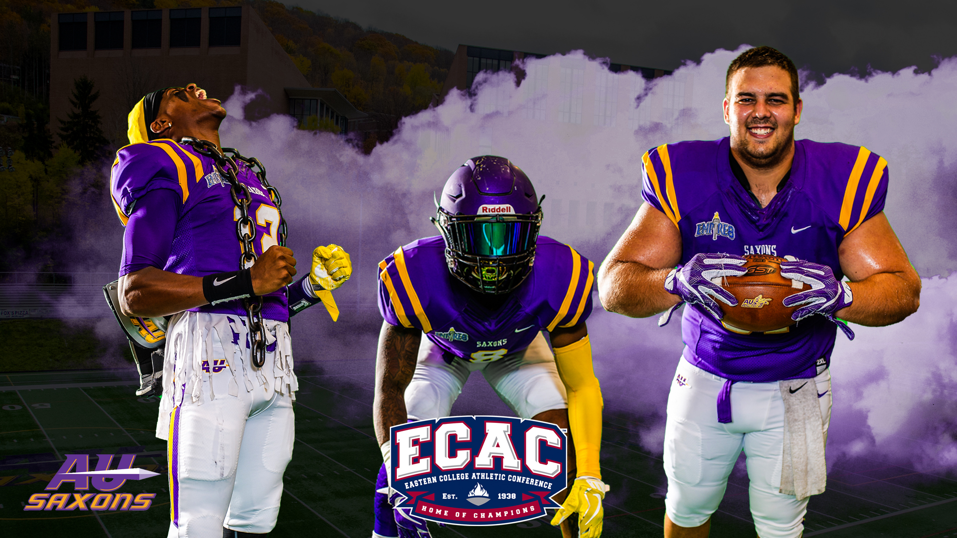 Saxons To Play Ecac Bowl Against Former E8 Foe Salisbury Alfred