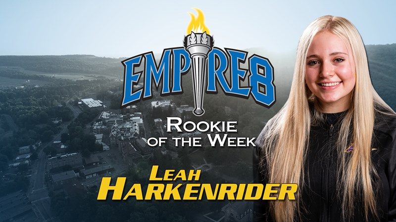 Harkenrider Scores First Empire 8 Weekly Honors - Alfred University Athletics